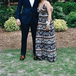 Boho prom dress